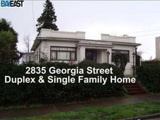 2835 Georgia St, Oakland, CA 94602