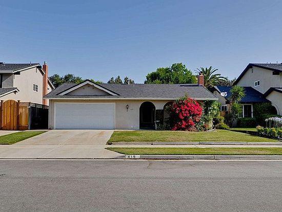 419 Fieldcrest Dr, San Jose, CA 95123