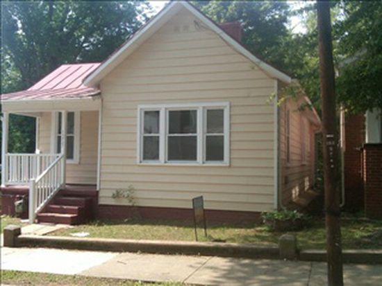 1215 Paxton St, Danville, VA 24541