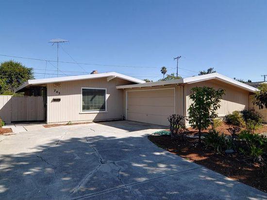 743 Lakewood Dr, Sunnyvale, CA 94089