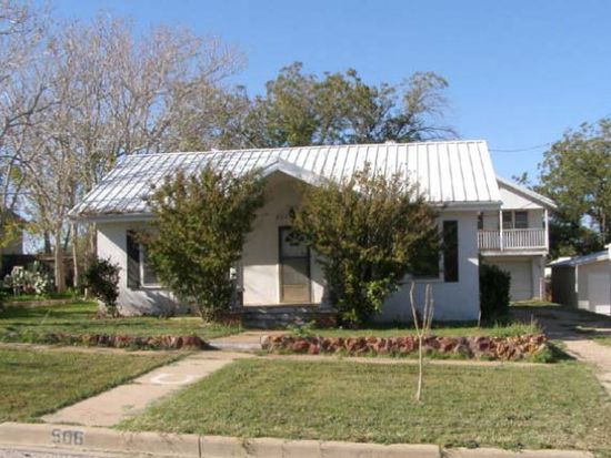 506 W 4th St, Sweetwater, TX 79556