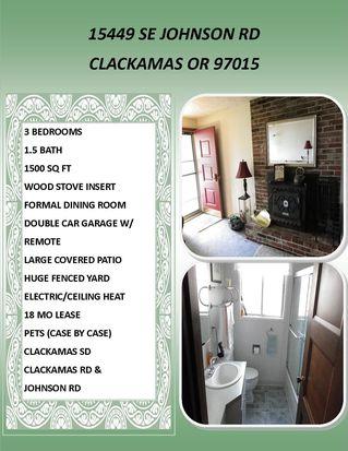 15449 SE Johnson Rd, Clackamas, OR 97015