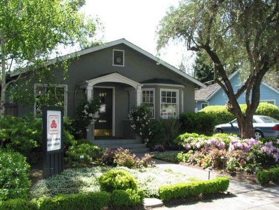 697 Menlo Ave, Menlo Park, CA 94025