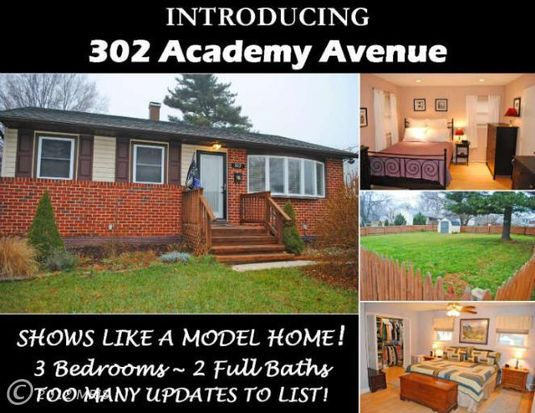 302 Academy Ave, Reisterstown, MD 21136
