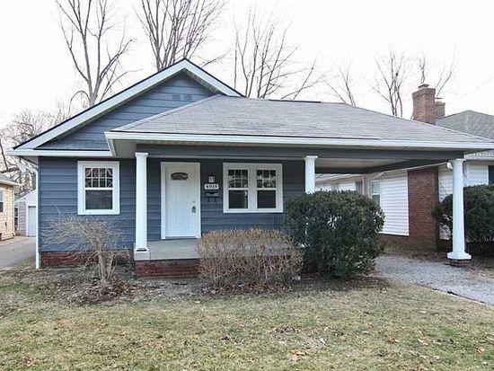 4919 N Kenwood Ave, Indianapolis, IN 46208
