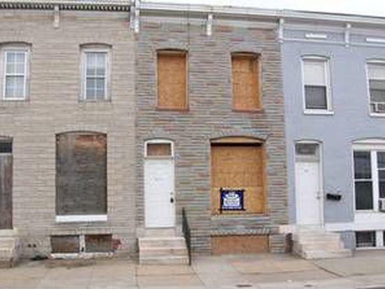 1614 N Washington St, Baltimore, MD 21213