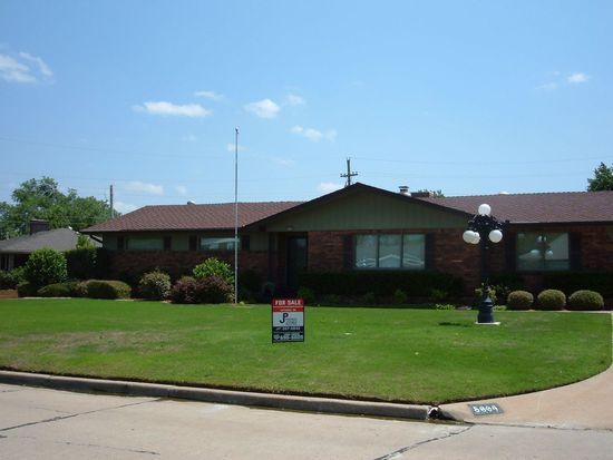 5004 SW Country Club Dr, Lawton, OK 73505