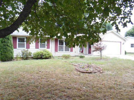 1124 N Lake Terrace Dr, Crawfordsville, IN 47933