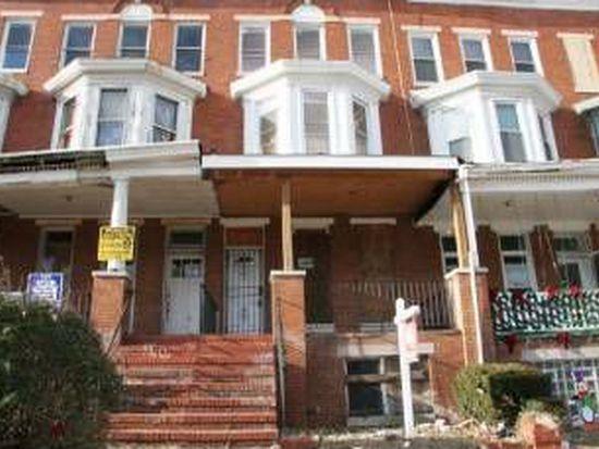 1630 Gwynns Falls Pkwy, Baltimore, MD 21217