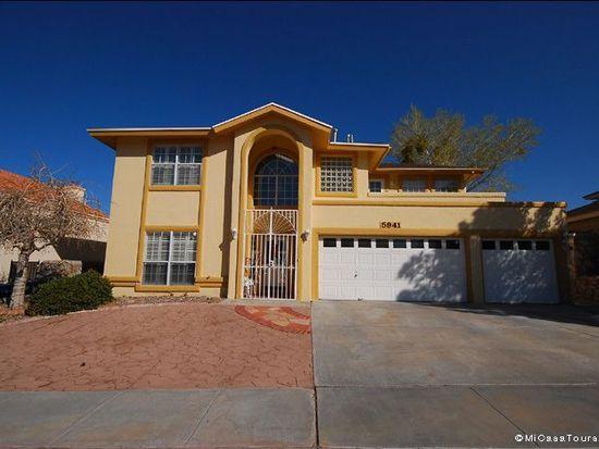 5941 Via Cuesta Dr, El Paso, TX 79912