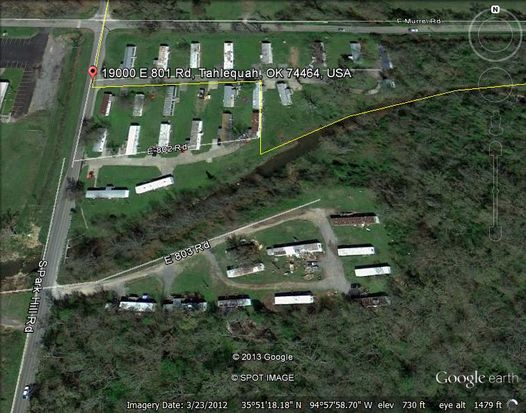 129 W Willis Rd TRLR 1, Tahlequah, OK 74464
