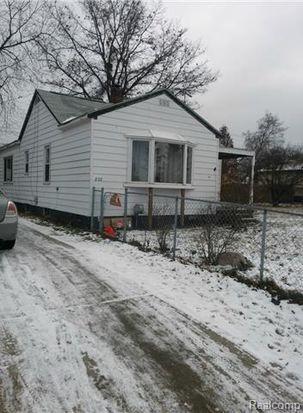 820 Parkwood Ave, Pontiac, MI 48340