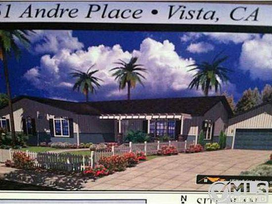 1361 Andre Pl, Vista, CA 92081