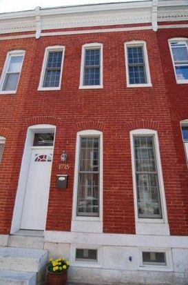 1715 Clarkson St, Baltimore, MD 21230