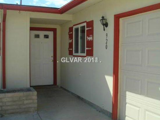 920 Palmhurst Dr, Las Vegas, NV 89145