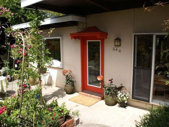 640 Butte St, Sausalito, CA 94965