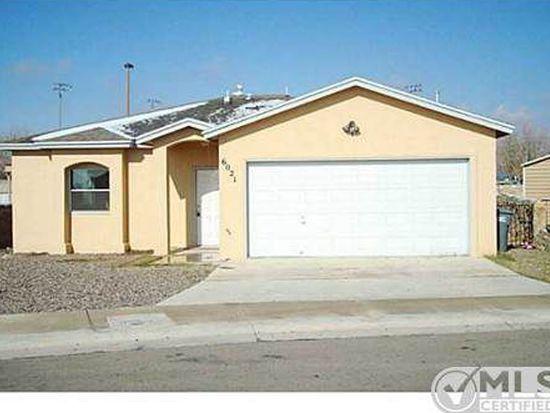 6021 Honeybee Ct, El Paso, TX 79924