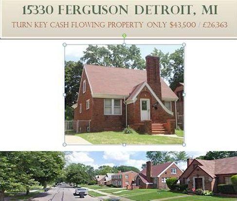 15330 Ferguson St, Detroit, MI 48227