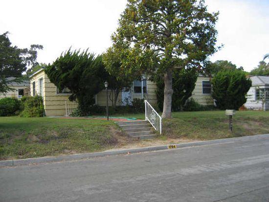 1704 Alta Vista Way, San Diego, CA 92109