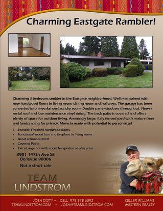 3901 147th Ave SE, Bellevue, WA 98006