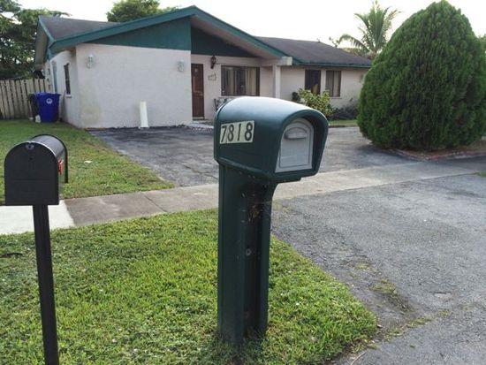 7818 SW 7th Pl, North Lauderdale, FL 33068