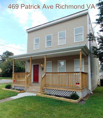 469 Patrick Ave, Richmond, VA 23222