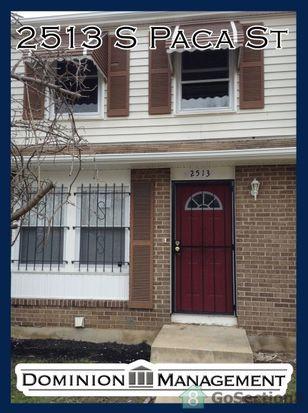 2513 S Paca St, Baltimore, MD 21230