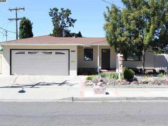 4463 Carol Ave, Fremont, CA 94538