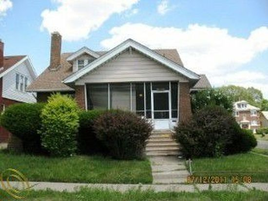 12602 Monte Vista St, Detroit, MI 48238