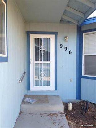 996 Desert Dr, Carson City, NV 89705