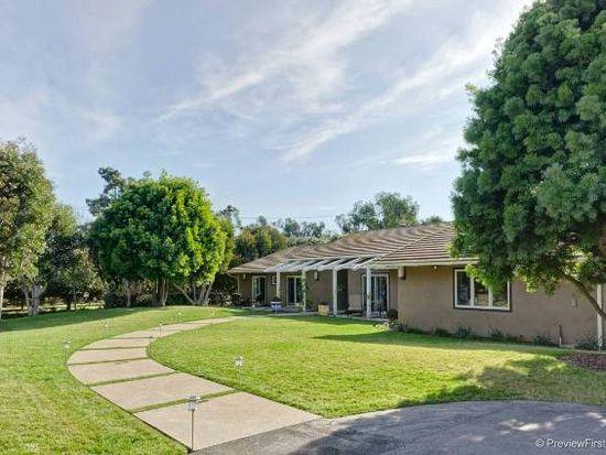 6427 Lago Lindo, Rancho Santa Fe, CA 92067
