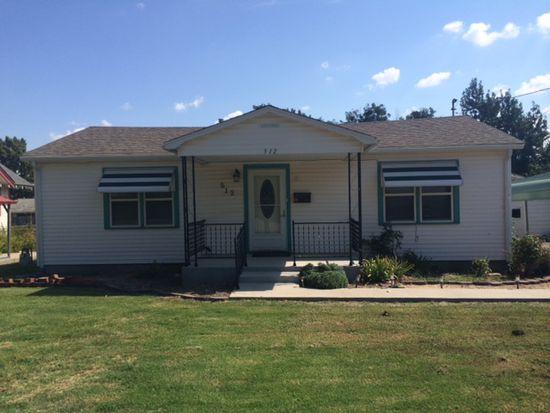 512 S Howerton Ave, Cushing, OK 74023