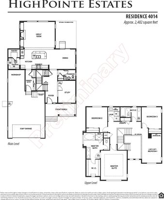 Residence 4014 - Reserve at HighPointe Estates by Century Communities