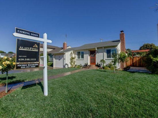 989 E Grant Pl, San Mateo, CA 94402