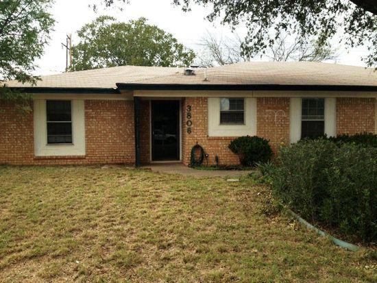 3806 Millbrook Dr, San Angelo, TX 76904