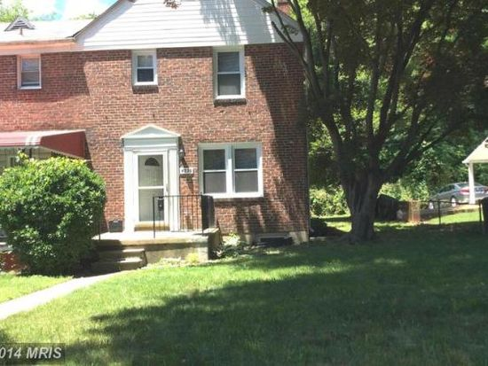 4530 Pen Lucy Rd, Baltimore, MD 21229