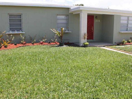 318 W 34th St, Hialeah, FL 33012