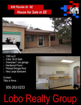 936 Florida St SE, Albuquerque, NM 87108