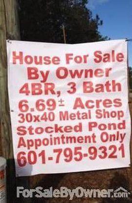 1259 Oak Hill Rd, Poplarville, MS 39470