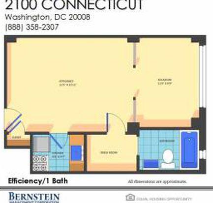 2100 Connecticut Ave NW, Washington, DC 20008