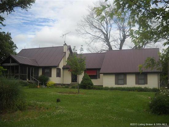 11106 S Horners Chapel Rd, Fredericksburg, IN 47120