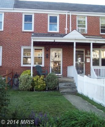 3616 Clarenell Rd, Baltimore, MD 21229