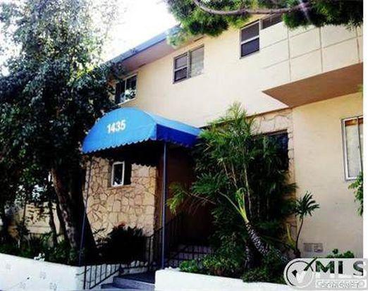 1435 N Fairfax Ave APT 11, West Hollywood, CA 90046