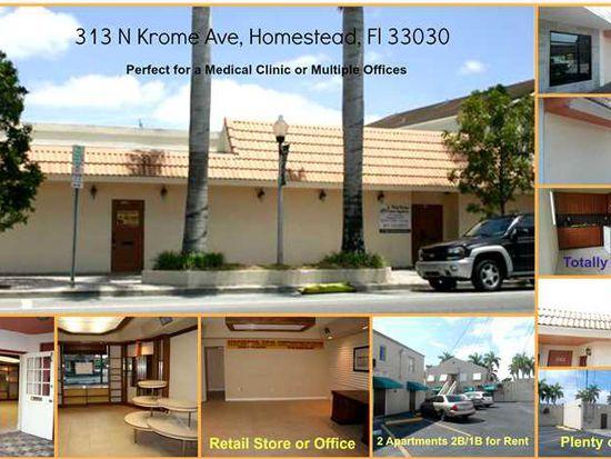 313 N Krome Ave, Homestead, FL 33030