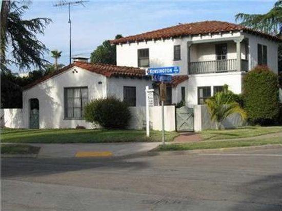 4901 Kensington Dr, San Diego, CA 92116