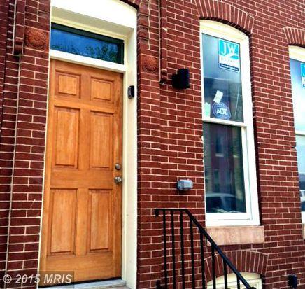 1617 E Preston St, Baltimore, MD 21213
