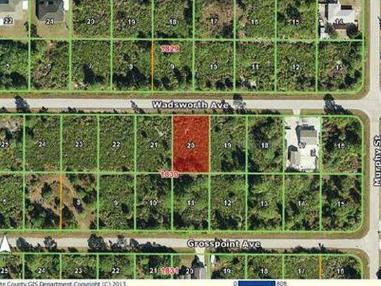 12161 Wadsworth Ave, Port Charlotte, FL 33981
