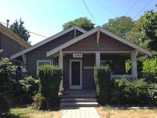 4769 34th Ave NE, Seattle, WA 98105