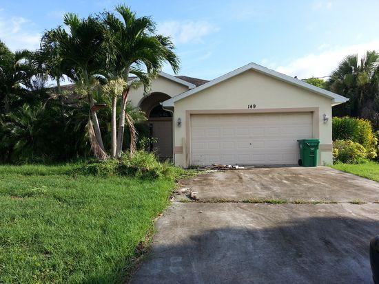 149 SW Saratoga Ave, Port Saint Lucie, FL 34953