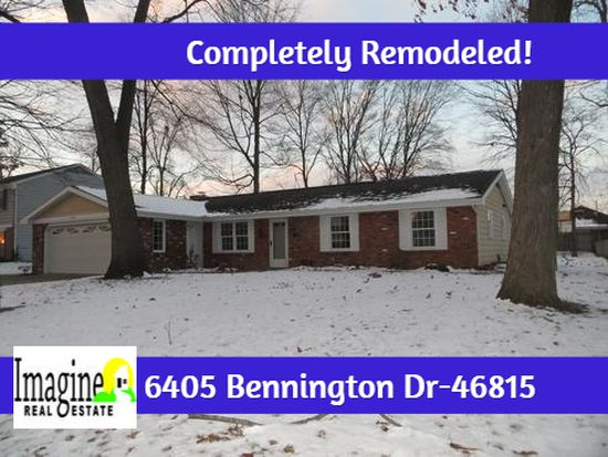 6405 Bennington Dr, Fort Wayne, IN 46815